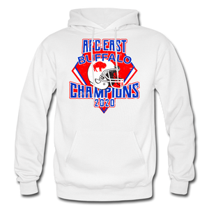 Men's Retro Diamond Hoodie - white