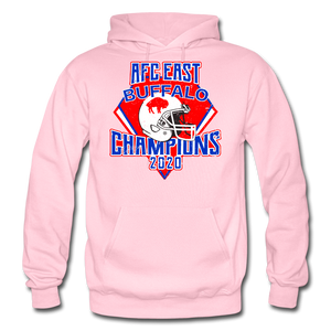 Men's Retro Diamond Hoodie - light pink