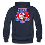 Men's Retro Diamond Hoodie - navy
