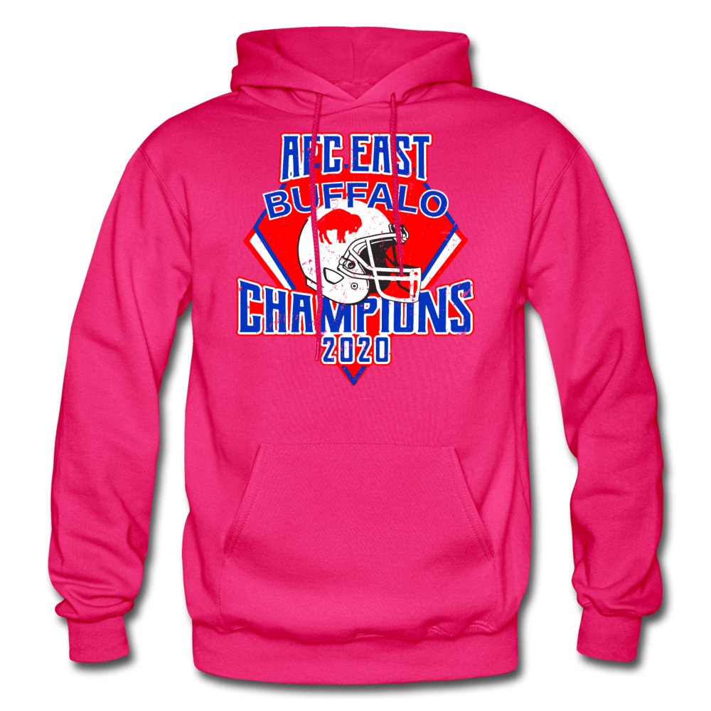 Men's Retro Diamond Hoodie - fuchsia