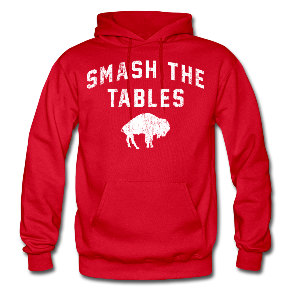 Men's Tables Hoodie - red