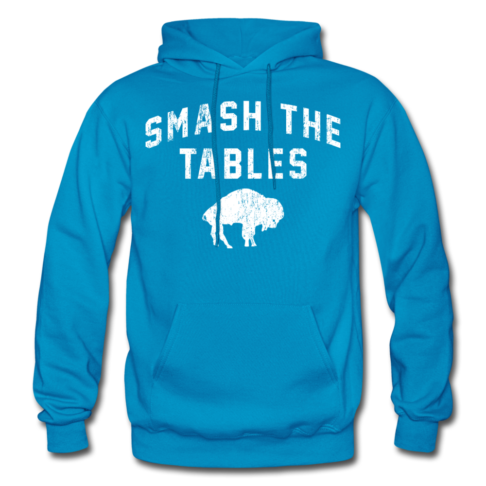Men's Tables Hoodie - turquoise
