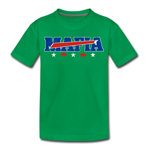 Toddler Mafia Premium T-Shirt - kelly green