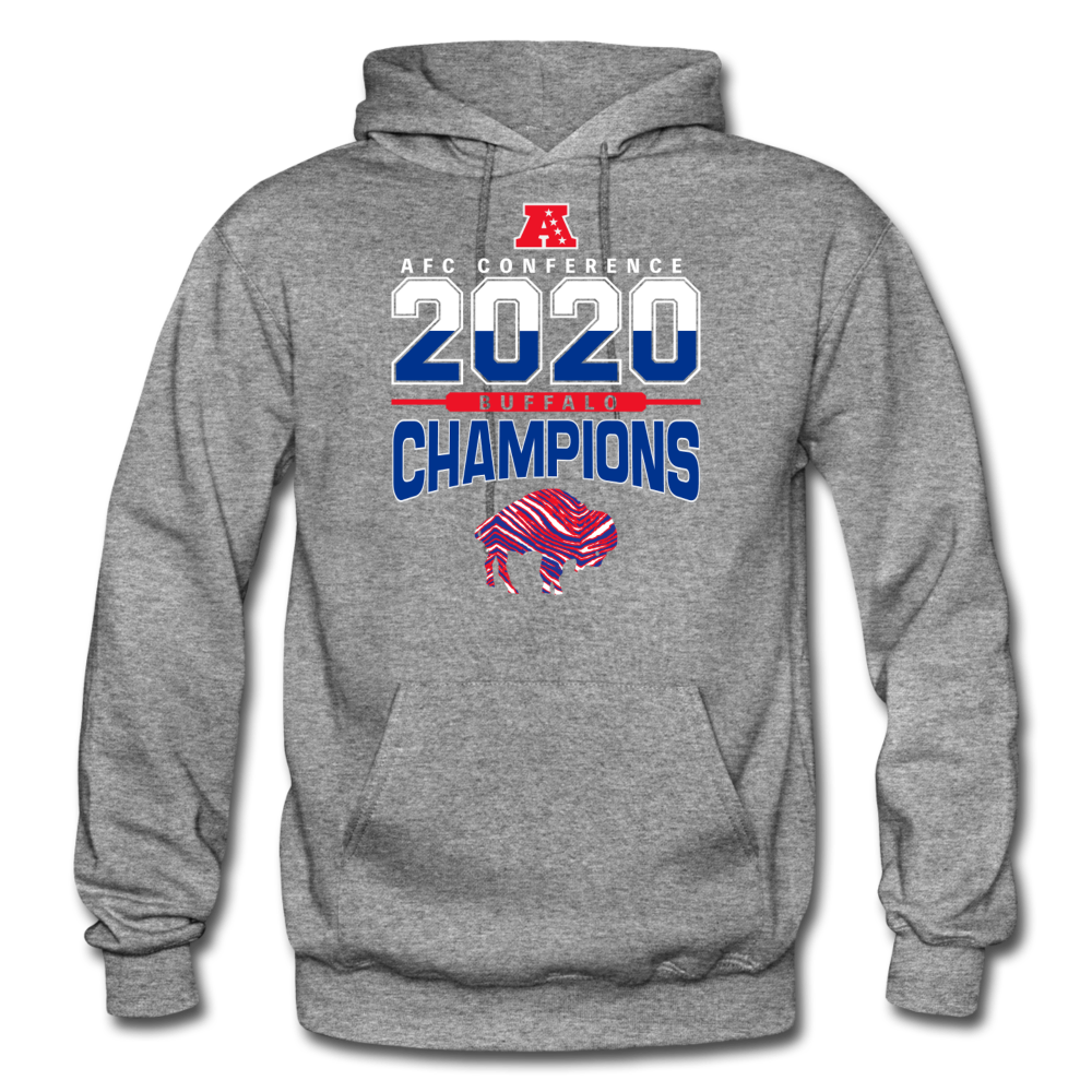 Men's 2020 Champs Hoodie - graphite heather