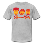 Unisex Kansas Premium T-shirt - heather gray