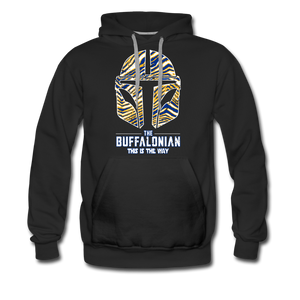 Men's Buffalonian Hockey Premium Hoodie - black