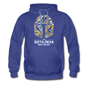 Men's Buffalonian Hockey Premium Hoodie - royalblue