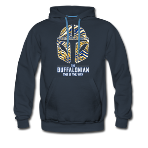 Men's Buffalonian Hockey Premium Hoodie - navy