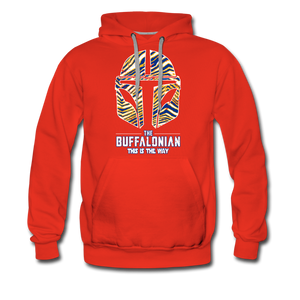 Men's Buffalonian Hockey Premium Hoodie - red