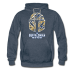 Men's Buffalonian Hockey Premium Hoodie - heather denim