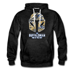 Men's Buffalonian Hockey Premium Hoodie - charcoal gray
