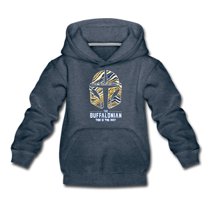 Kids' Hockey Buffalonian Premium Hoodie - heather denim
