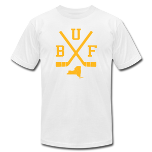 Unisex BUF Hockey Premium T-shirt - white