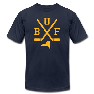 Unisex BUF Hockey Premium T-shirt - navy
