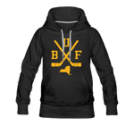 Women's BUF Hockey Premium Hoodie - black