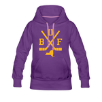 Women's BUF Hockey Premium Hoodie - purple