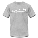 Unisex Buffalove Mickey Premium T-shirt - heather gray