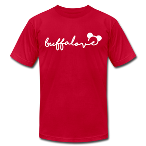 Unisex Buffalove Mickey Premium T-shirt - red