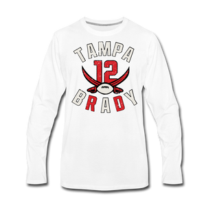 Men's Tampa Premium Long Sleeve T-Shirt - white