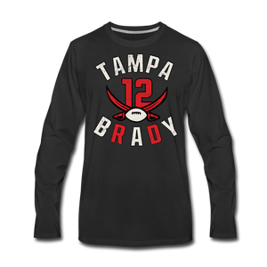 Men's Tampa Premium Long Sleeve T-Shirt - black