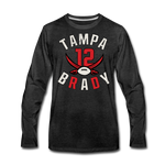 Men's Tampa Premium Long Sleeve T-Shirt - charcoal gray