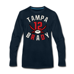 Men's Tampa Premium Long Sleeve T-Shirt - deep navy