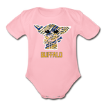 Organic Hockey Yoda Baby Onesie - light pink