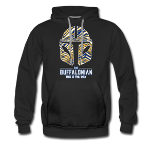 Men's Buffalo Hockey Premium Hoodie - black
