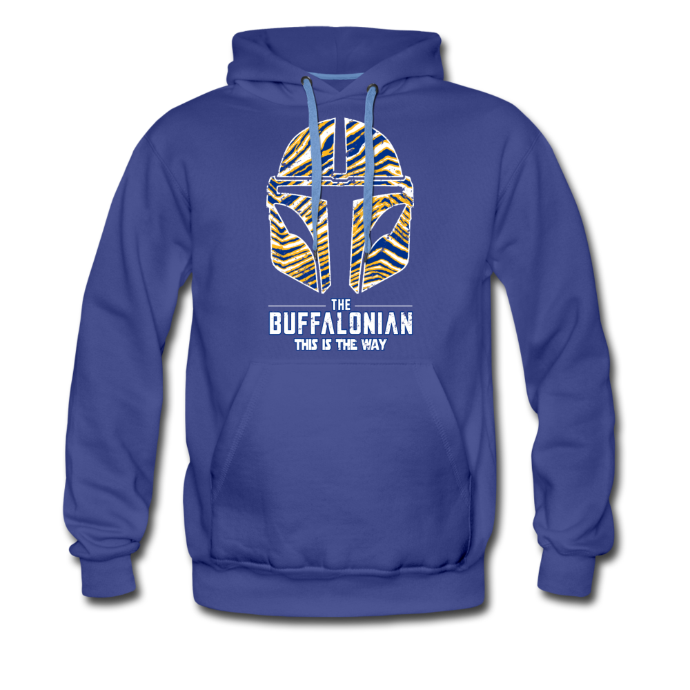 Men's Buffalo Hockey Premium Hoodie - royalblue