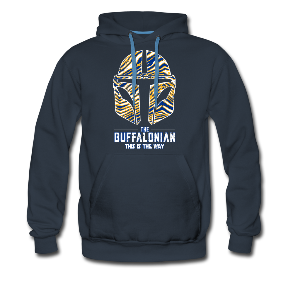 Men's Buffalo Hockey Premium Hoodie - navy