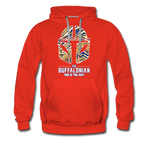 Men's Buffalo Hockey Premium Hoodie - red