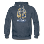 Men's Buffalo Hockey Premium Hoodie - heather denim
