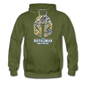 Men's Buffalo Hockey Premium Hoodie - olive green
