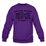 Unisex East Aurora Crewneck Sweatshirt - purple