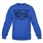 Unisex East Aurora Crewneck Sweatshirt - royal blue