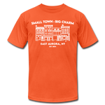 Unisex East Aurora Premium T-shirt - orange