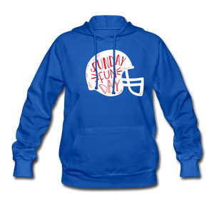 Women's Sunday Funday Hoodie - royal blue