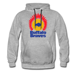 Men's Buffalo Braves Premium Hoodie - heather gray