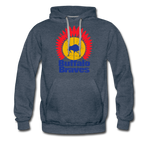 Men's Buffalo Braves Premium Hoodie - heather denim