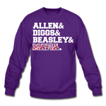 Unisex Players Crewneck Sweatshirt - purple
