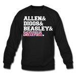 Unisex Players Crewneck Sweatshirt - black