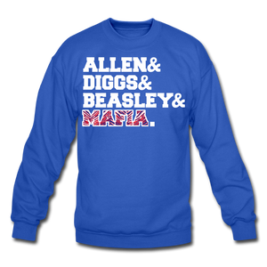 Unisex Players Crewneck Sweatshirt - royal blue