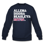 Unisex Players Crewneck Sweatshirt - navy