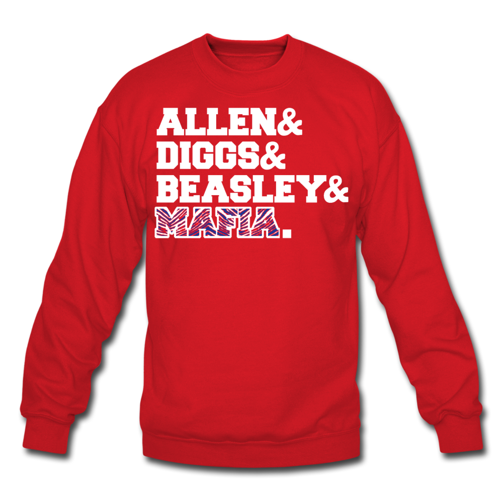 Unisex Players Crewneck Sweatshirt - red