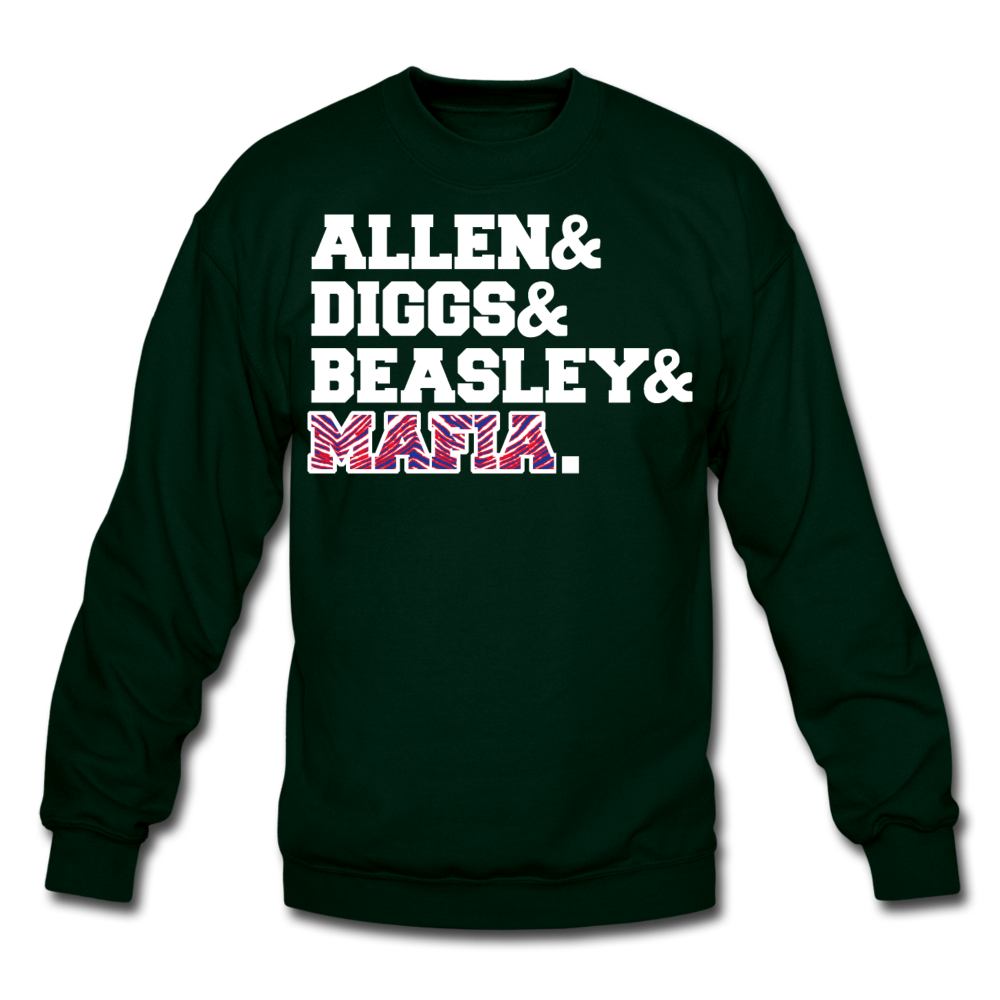 Unisex Players Crewneck Sweatshirt - forest green