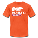 Unisex Players Premium T-shirt - orange