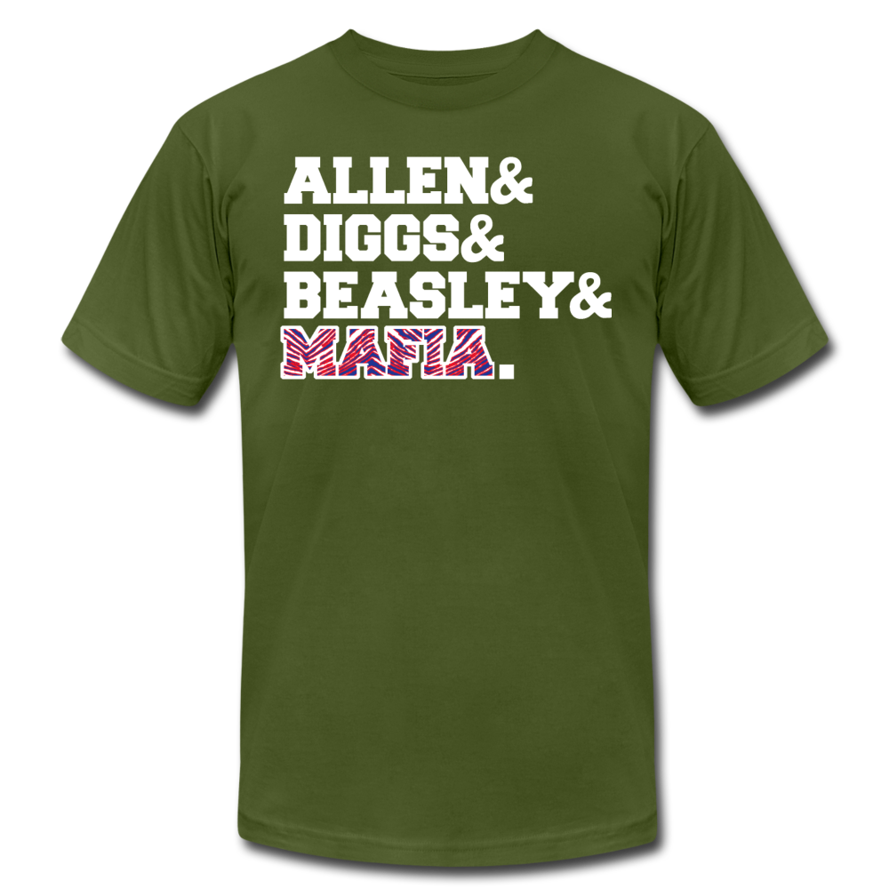 Unisex Players Premium T-shirt - olive