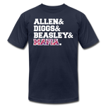Unisex Players Premium T-shirt - navy