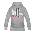 Women's Players Premium Hoodie - heather gray