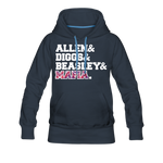 Women's Players Premium Hoodie - navy